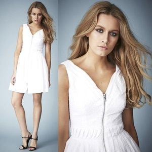 Kate Moss TOPSHOP dress cotton dobby sundress 4